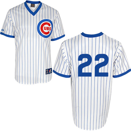 9bff4f31aa4 ... Fashion MLB Jersey.  249.99  34.99. Men s Majestic Chicago Cubs  22  Jason Heyward Authentic White 1988 Turn Back The Clock Cool