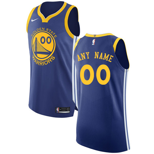 Men s Nike Golden State Warriors Customized Authentic Royal Blue Road NBA  Jersey - Icon Edition cf2d5afa3