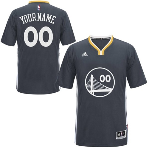 71c6327120a Men s Adidas Golden State Warriors Customized Authentic Black Alternate NBA  Jersey