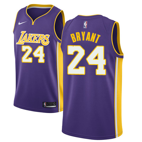Men s Adidas Los Angeles Lakers  24 Kobe Bryant Authentic Purple Road NBA  Jersey 59e6776d8