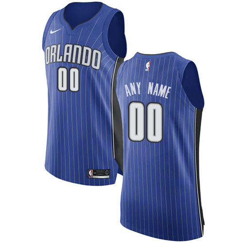a2332d435 Men s Nike Orlando Magic Customized Authentic Royal Blue Road NBA Jersey - Icon  Edition