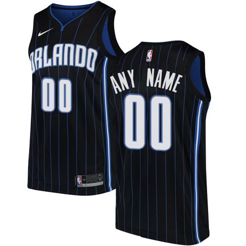 758495ce6 Men s Nike Orlando Magic Customized Authentic Black Alternate NBA Jersey  Statement Edition