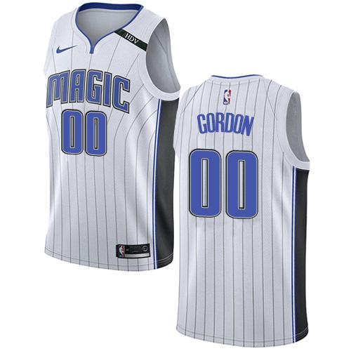 a803b85c9c6 Men s Adidas Orlando Magic  0 Aaron Gordon Authentic White Home NBA Jersey
