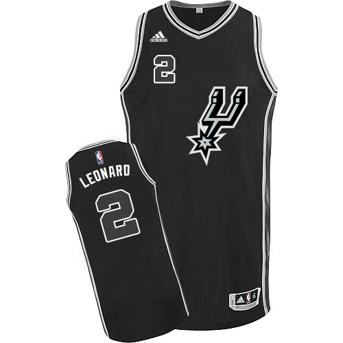 58385d4bd82 Men s Adidas San Antonio Spurs  2 Kawhi Leonard Swingman Black New Road NBA  Jersey