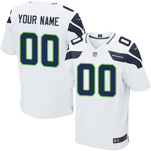 Discount Cheap Wholesale Customized Seattle Seahawks Authentic NFL Jerseys  for sale