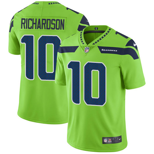 Men s Nike Seattle Seahawks  10 Paul Richardson Elite Green Rush Vapor  Untouchable NFL Jersey bba789c12