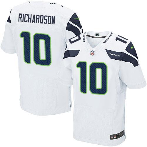 Men s Nike Seattle Seahawks  10 Paul Richardson Elite White NFL Jersey bd47e5eab