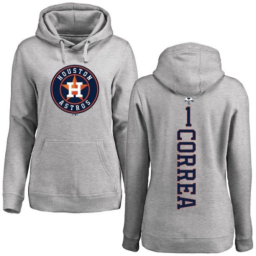 Men's Majestic Houston Astros #1 Carlos Correa Navy Blue Flexbase Authentic Collection MLB Jersey