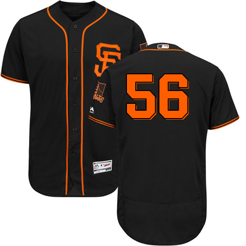 Men's Majestic San Francisco Giants #12 Joe Panik Orange Flexbase Authentic Collection MLB Jersey