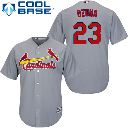 Men's Majestic St. Louis Cardinals #1 Ozzie Smith Red Flexbase Authentic Collection MLB Jersey