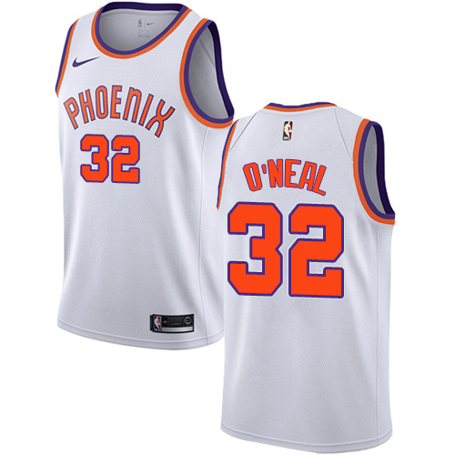Men's Adidas Phoenix Suns #32 Shaquille O'Neal Authentic White Home NBA Jersey