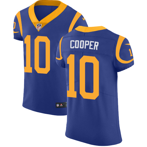 Men's Nike Los Angeles Rams #10 Pharoh Cooper Royal Blue Alternate Vapor Untouchable Elite Player NFL Jersey
