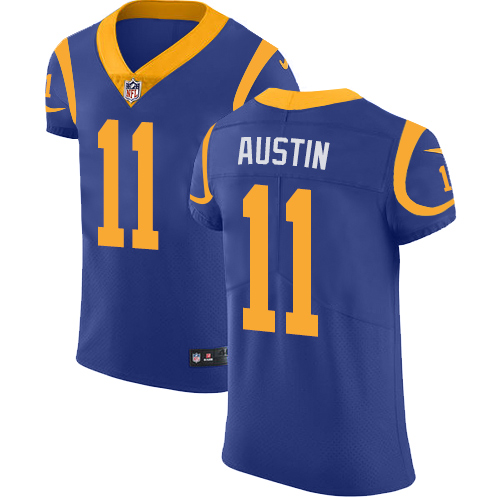 Men's Nike Los Angeles Rams #11 Tavon Austin Royal Blue Alternate Vapor Untouchable Elite Player NFL Jersey